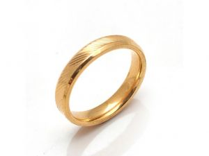 Sanaa Creations Real Gold Plated Vintage Stamp Band Ring-(size-16)-(product Code-1mr38)