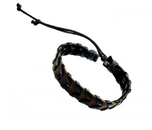 Sanaa Creations Brown Band Bracelet For Men To Jazz Up Their Monotonous Look-(product Code-1mb123)