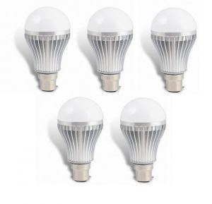 LED Bulb 5w Bright White Light LED Bulb Saving Energy 1 Set Of 5 Pcs.