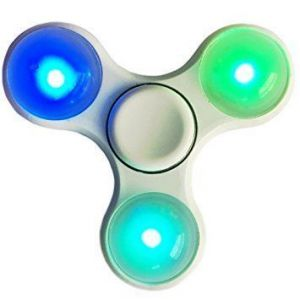 LED Light Styles Hand Finger Spinner Fidget Plastic Edc Hand Spinner For Autism And Adhd Relief