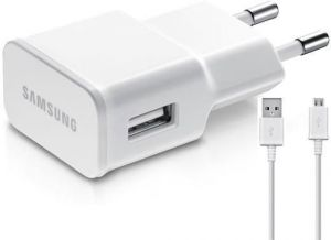 Samsung Eta-u90iweginu 10 W USB Travel Adapter Battery Charger (white)