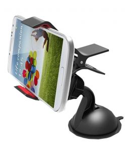 Favourite Bikerz Car Mobile Holder With 360 Degree Rotating - (code -cmh Bk 55)