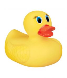Futaba Baby Bath Toy Squeaky Duck (pack Of 2)