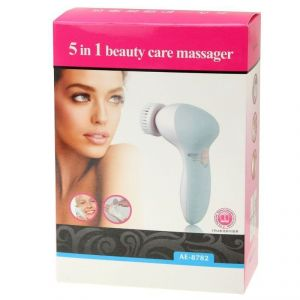 5 In 1 Beauty Care Brush Massager Electric Facial Cleanser
