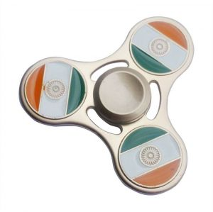 Jharjhar Indian Flag Fidget Spinners