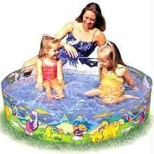 Intex Snap Set Water Pool For Babies (4ft)
