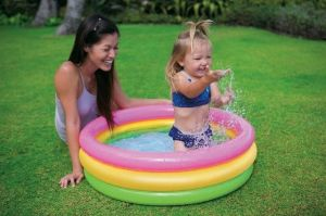 Intex Sunset Glow Baby Swimming Pool 3 Ft - 58924