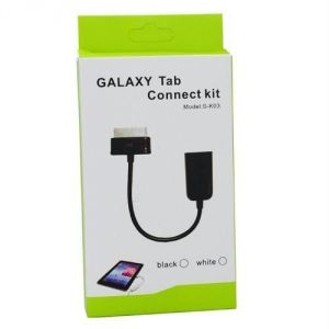 USB Otg Cable For Samsung Galaxy Tab / Tab 2 P5100 P5110 P3100 P3110