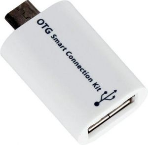 Fairprice Otg Smart Connection Kit USB Cable (white)