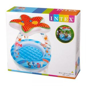 Intex Inflatable Toys - Intex Lil' Star Shade Baby Pool - 57428np (40in X 34in)