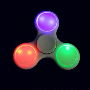 Frappel Fidget LED Hand Spinner For Fun, Anti-stress, Focus, Adhd & Anxiety