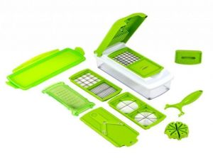 10in1 Nicer Multi Chopper Vegetable Cutter Fruit Slicer Peeler Dicer