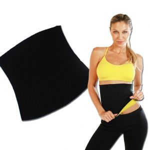 Colonail Unisex Hot Body Shaper Belt Slimming Waist Shaper Belt Thermo Tummy Trimmer Shapewear Xxxl