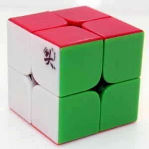 Dayan Zhanchi I Stickerless 2x2x2 Speed Cube Puzzle, 46mm