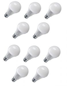 12 W LED Bulb Set Of 10