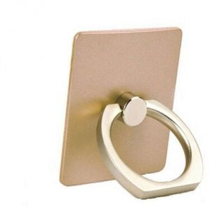 Vu4 Finger Grip Ring Stand Gold Mobile Holder