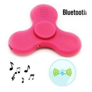 Fidget Spinner Toy LED Light With Bluetooth Speaker USB Power Supply, Durable Bearing For Killing Time Relieves Anxiety Adhd Stress Reducer