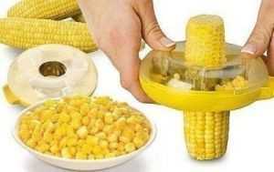 The One-step Corn Kerneler With Stainless Steel Blades Easie To Cut