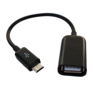 Network Cables, Connectors - USB 2.0 A Female To Micro B Male Converter Otg Adapter Cable For Samsung/ph