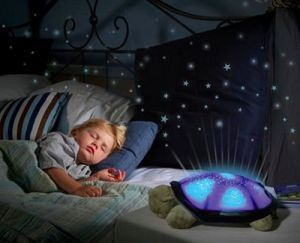 Dh Sea Turtle Night Light Star Constellation LED Child Sleeping Projector