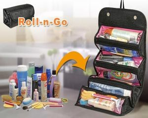 Jewellery Boxes - 4 In 1 Roll N Go Travel Buddy Cosmetic And Jewellery Organizer