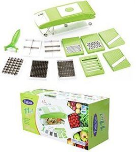 Famouse 11 In 1 Multi Chopper Vegetable Cutter Fruit Slicer Grater Peeler