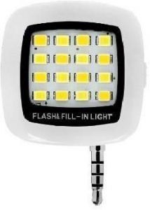 Epresent 16 LED Selfie Flash Light For All Smartphones Flash (white)