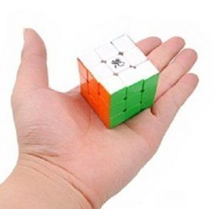 Dayan 42mm Mini Zhanchi 3 X 3 Speed Cube 6 Color Stickerless 4.2cm Puzzle