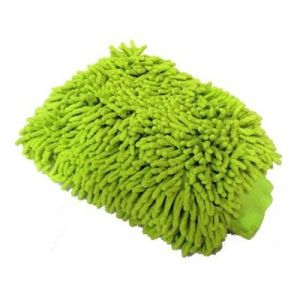 Microfiber Premium Wash Mitt Gloves Multipurpose House Car Glass LCD Cleaning