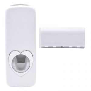 Automatic Toothpaste Dispenser With 5 Toothbrush Holder - 01
