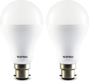Wipro 12 W LED N12001 Bulb (white, Pack Of 2)