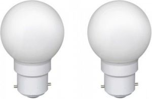 Ornate 0.5 W LED Bulb (white, Pack Of 2)