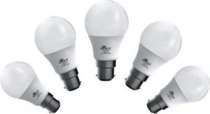 Ornate 12 W LED Bulb (white, Pack Of 5)