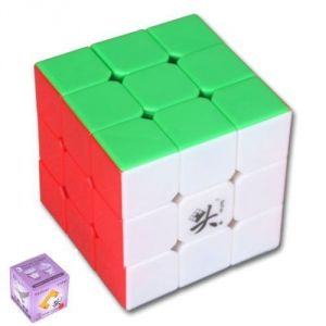 Dayan V5 Zhanchi 5th Generation 3x3x3 Speed Puzzle Magic Cube 6 Colors