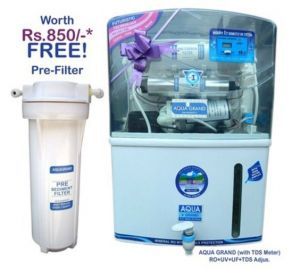 Aquagrand Water Purifier 14 Stage(ro Uv Uf Tds Adjuster Minerals) 12ltr St