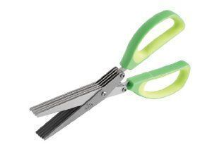 5 Blade Kitchen Scissor For Vegetable And Paper Cutting - Kitchen Tool