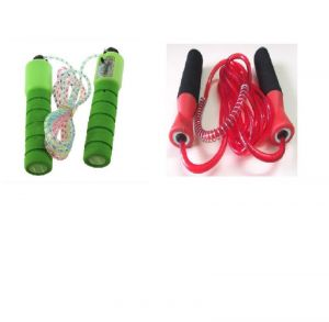 Facto Power Counter Skipping Rope Plus Bearing With Grip Skipping Rope