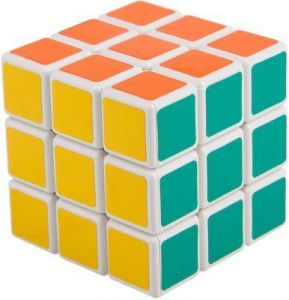 Magic Cube White 3x3x3 Puzzle