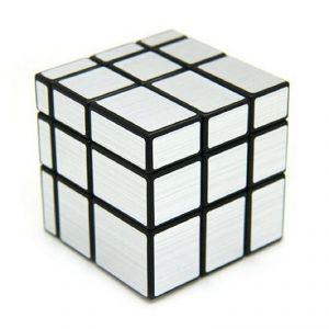 6th Dimensions Rubik Cube Silver Mirror 3 X 3 X 3 Cube Toys For Kids( Code - 6d110)