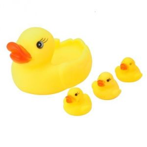 Floating Rubber Ducky Kids Bath Toy