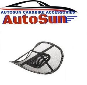 Autosun-car Seat Massage Chair Back Support Mesh Ventilate Cushion Pad