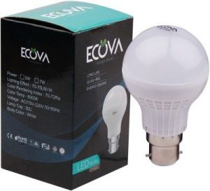 Ecova 5 W LED Bulb(white)
