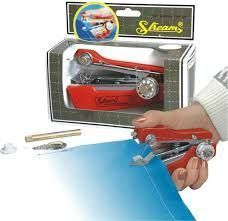 Home Basics New Mini Hand Sewing Machine-stapler Model