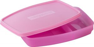 Nayasa Witty Polypropylene Lunch Box, Pink