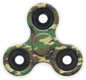 Strez High Speed And Longest Spin Time Spinner Squad Fidget Spinners Army Green