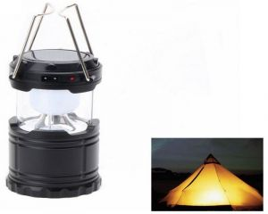 Trioflextech Solar Rechargeable 6led Camping Lantern Light G-85