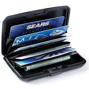 Set Of 2 Data Secure Aluminum Aluma Wallet