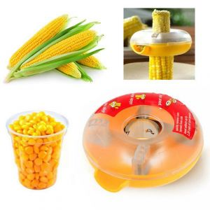 One-step Corn Peeler Thresher Kitchen Cob Kerneler Cutter Stripper Remover (code - Jm Cn Kn 01)