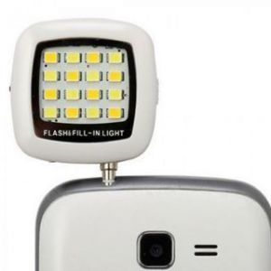 Selfie Enhancing Rechargeable LED Flash Light Specially For Night Selfies