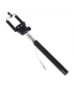 Z07-5s Selfie Stick - Black For Your Smart Phones